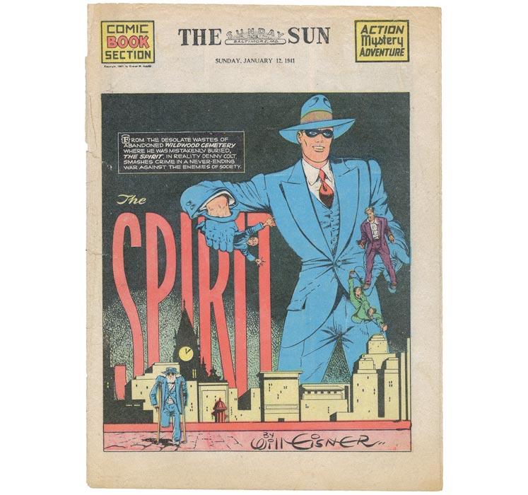 The Spirit Titelbild the Sun 1941