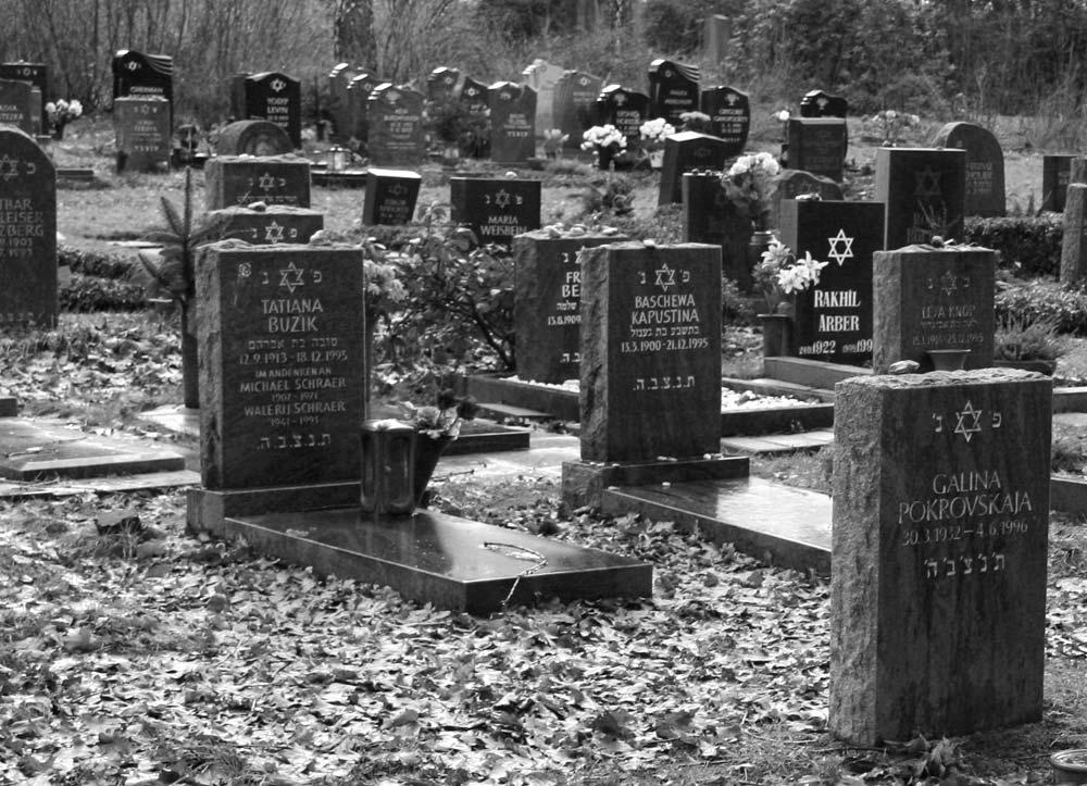 Jüdische Grabsteine Friedhof-am-Rennweg
