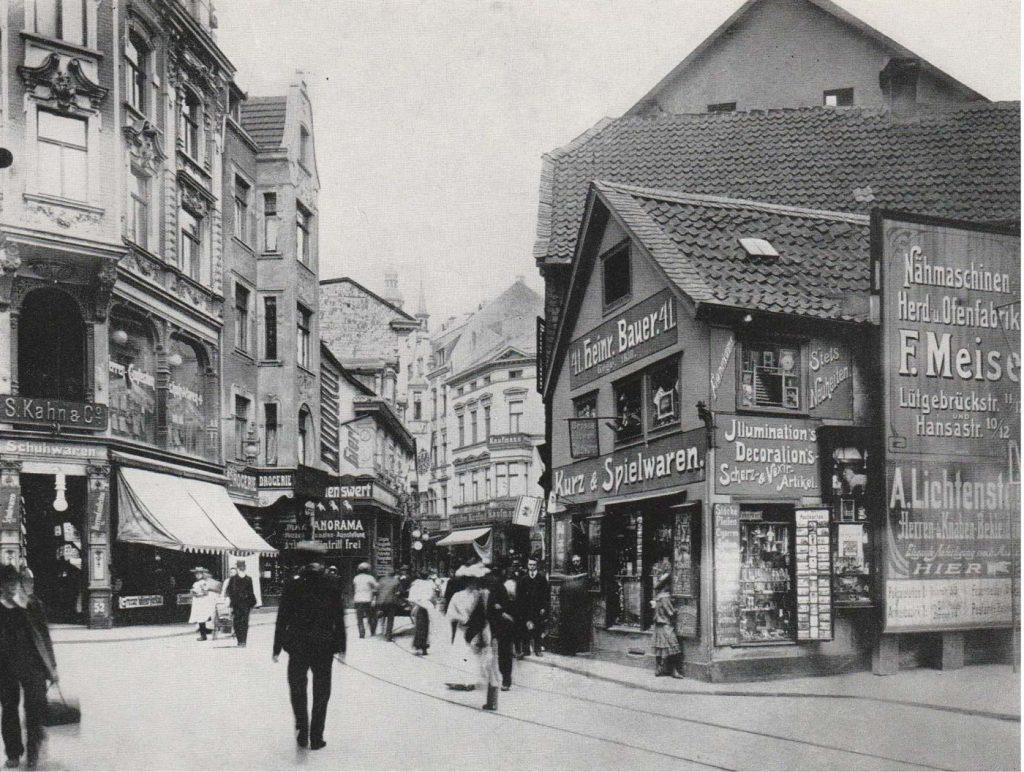 Schuhaus Kahn, Brückstra?e