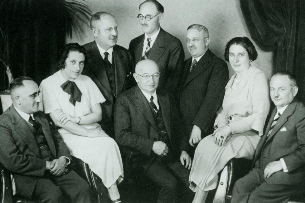 Kollegium der juedischen Volksschule