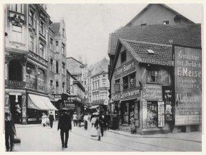 Schuhhaus Kahn s/w Fotografie