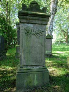 Grabstein Juedischer Friedhof Aplerbeck
