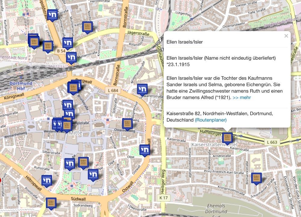 Vorschaubild der interaktiven Karte